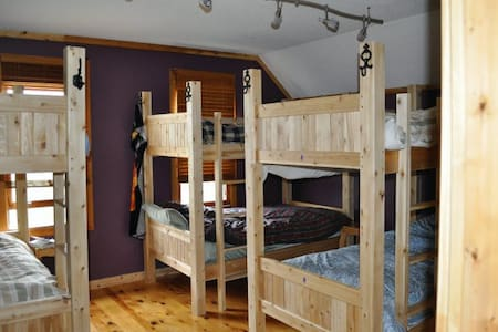 Bunk Beds @ Auberge Inn International Hostel