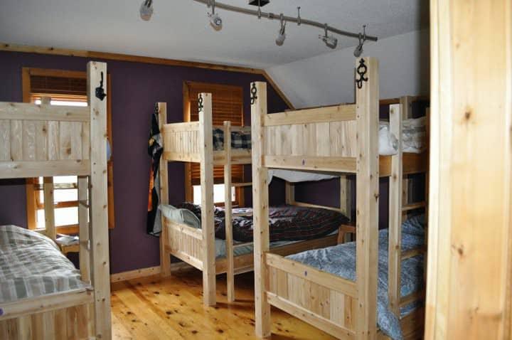 Bunk Beds @ Auberge Inn International Hostel