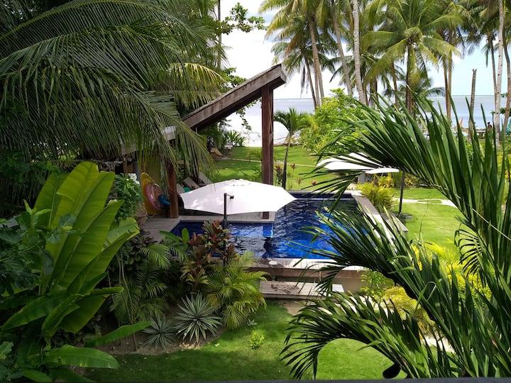 Daluyong Beach Resort Pool View