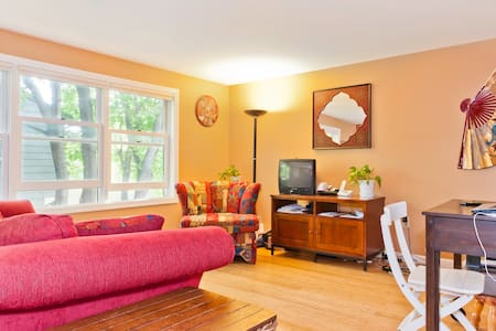 Room in cozy condo outside Boston - Medford - Apartemen