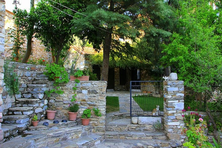 Wonderful Stone House in Antiquity, - Doğanbey - Huis