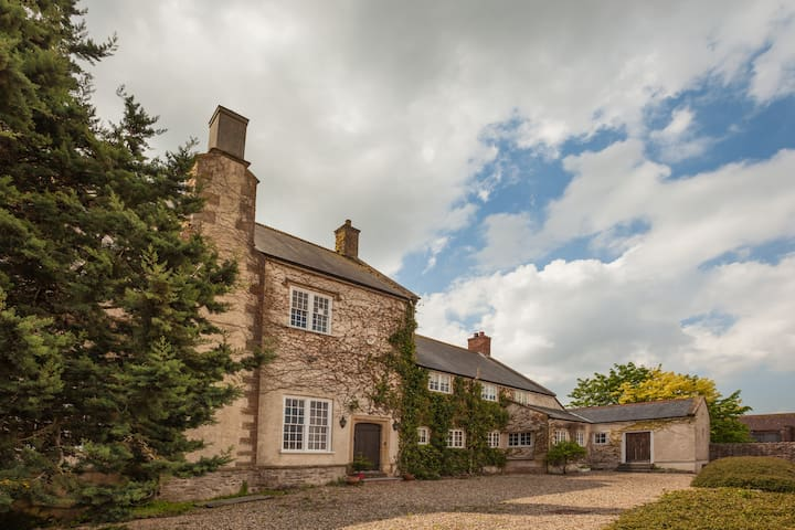 Grade II  listed 16th Century House - Cannington - Rumah