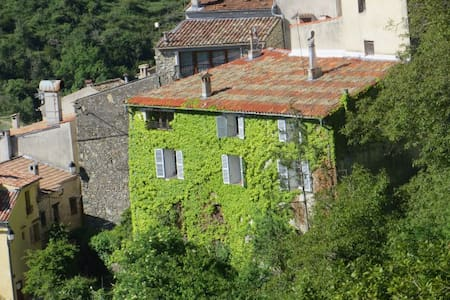 Old Mansion,Provence, close to NICE - Les Ferres - Byt