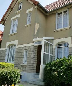 FRONT DE MER, villa 120 m², 7 pers. - Grandcamp-Maisy - Vila