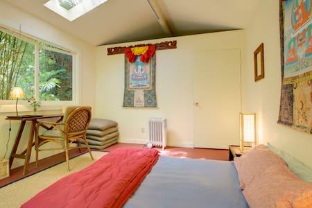 Peaceful Fairfax Garden Studio - Fairfax - Casa