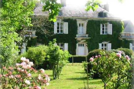 """Chambre d'hôtes """"Rose"""" en campagne proche Angers - Mûrs-Erigné"""