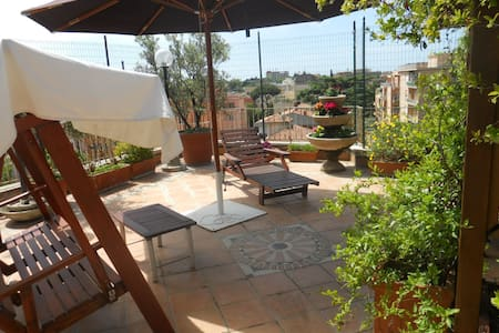 2 bedrooms+living + terrace 30 'to Colosseum x 4/5 - Rom - Bed & Breakfast