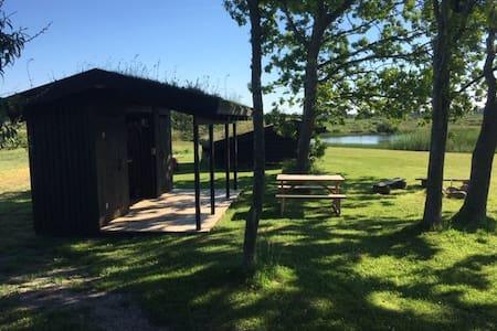 Shelterplads i naturskønne omgivelser i Thy