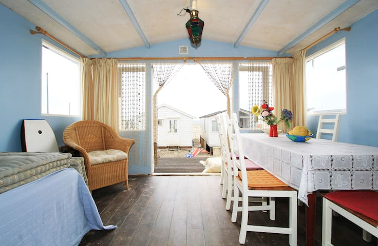 Beach cottage near Amsterdam!  - IJmuiden - 小木屋