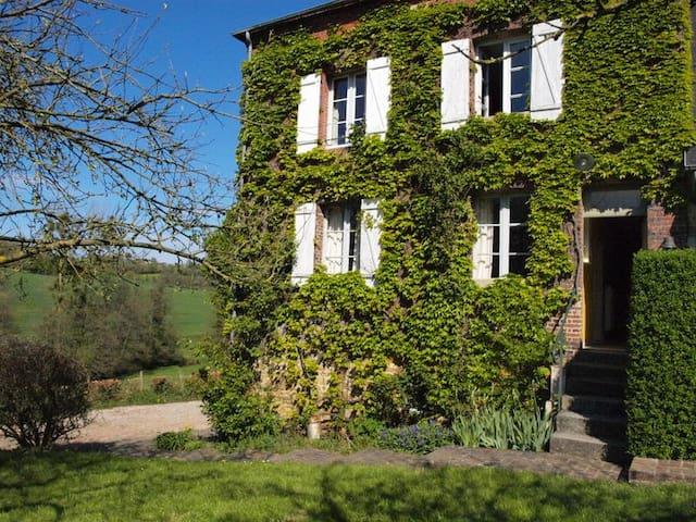 charmant boerenhuis in Normandië voor 9 personen - Crouttes