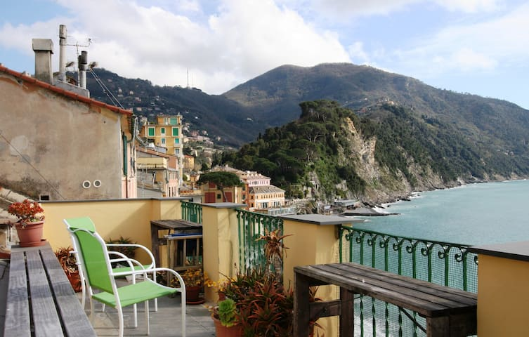 Amazing seaside apartment Camogli