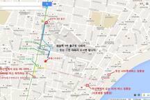 숙소약도  전화: 010-7371-3651 주소: 부산시 수영구 광안로 16번길 58 (광안2동 165-6)