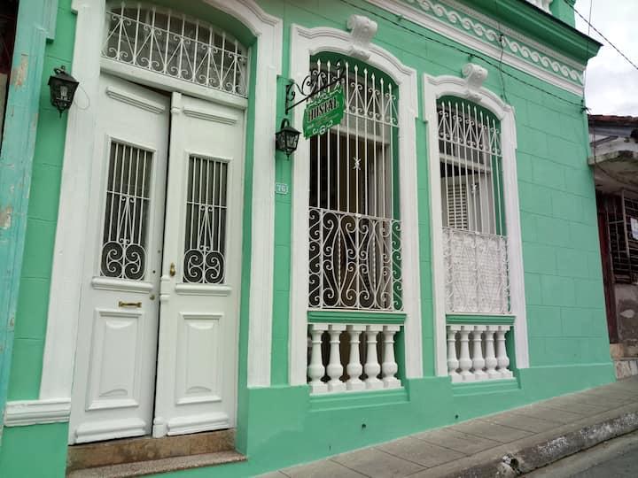 Hostal El Carmen,en el centro de Cuba.