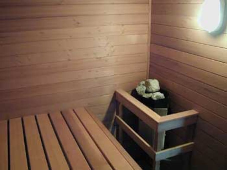 Redwood and Cedar Sauna