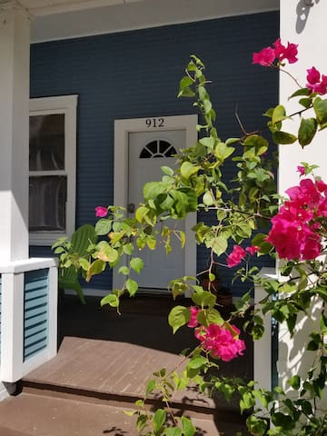 Bougainvillea Bungalow Ybor City Tampa Florida