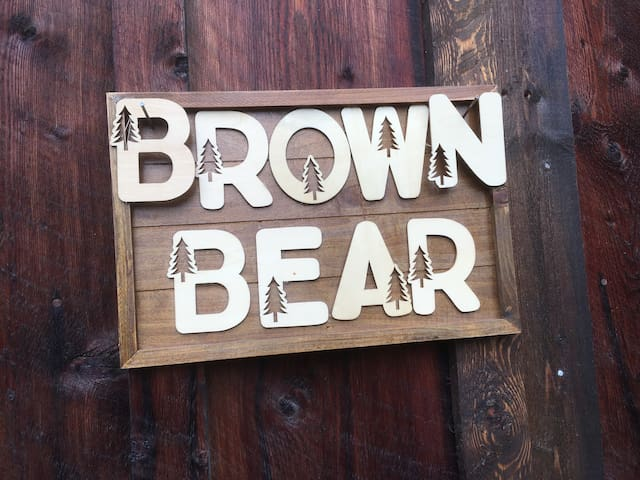 Come enjoy the Brown Bear!