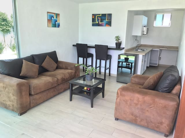 Luxury Apartment with Rooftop - San Andrés Cholula - Apartment