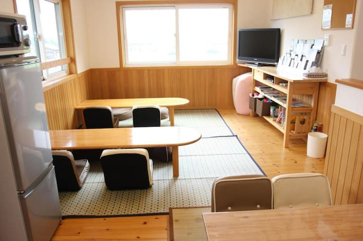 FUJIYAMA VIEW★ Family Lodge with a Great View of the Surrounding Nature!(No meal)FUJIYAMA view ★【Western style 2 people