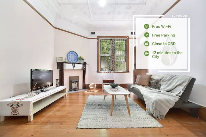 Historical old house near Burwood staion,amenities