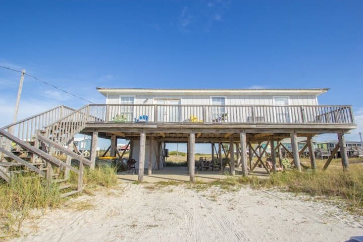 Cozy cottage directly across from beach - Gulf Shores - Haus