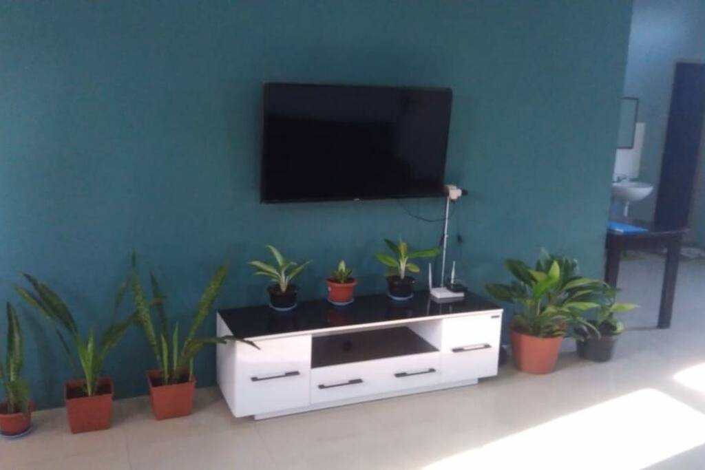 Living room with TV (2nd floor)
