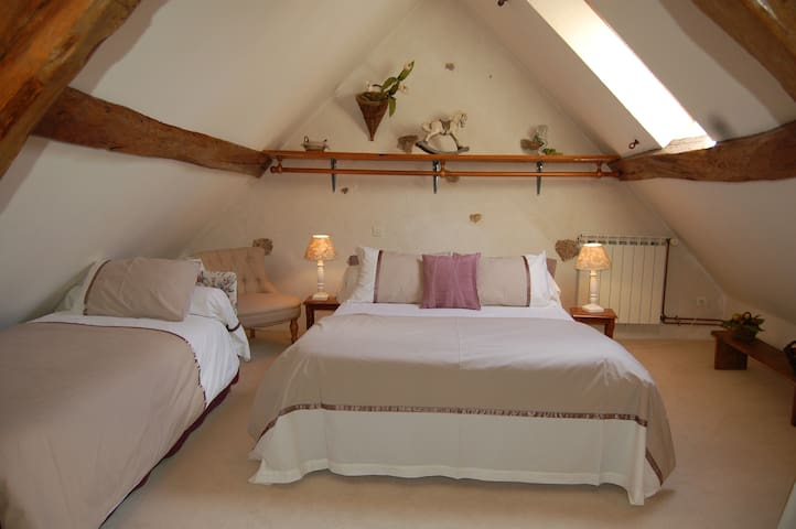 Nature & jardin-nature and garden room-les chambres de Muguette-Bannay-Marne