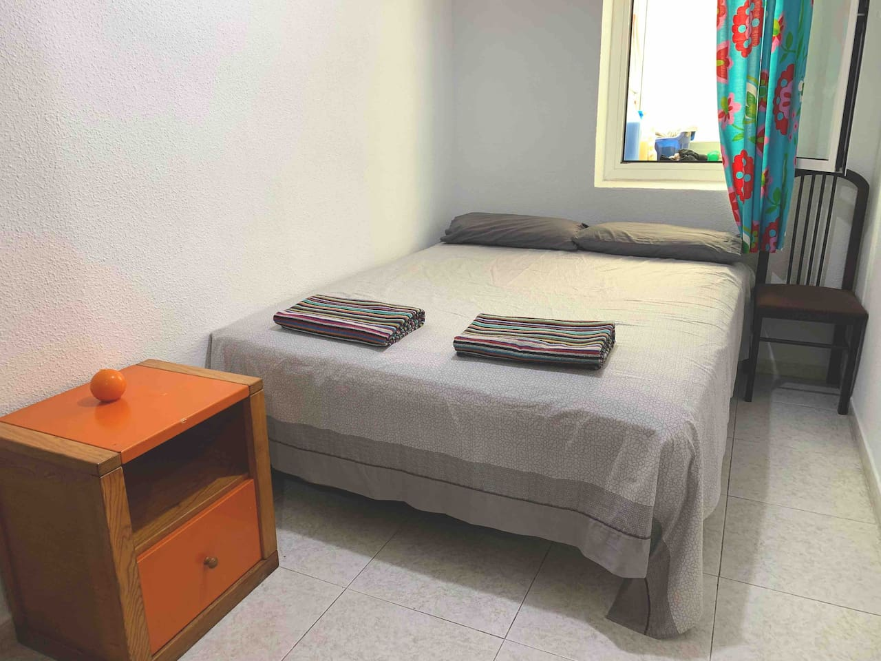 Habitacion, cama doble
