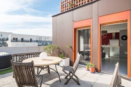 4-pièces terrasse prox. centre  - 里昂 - 公寓
