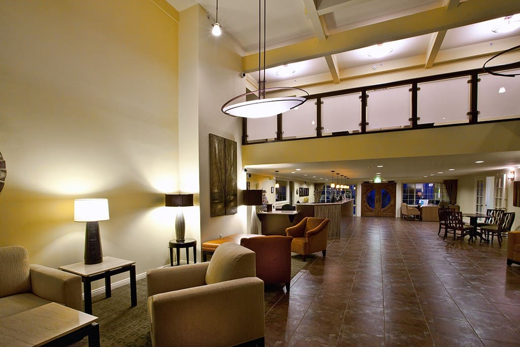 Lobby and Lounge area