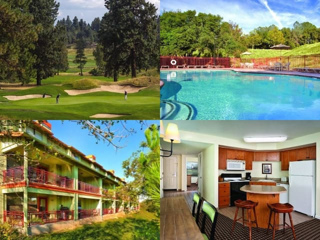 Angel's Camp 3 Bed Resort Condo~Pools~Tennis~Golf