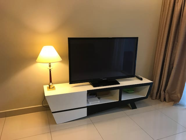 LCD TV in Living