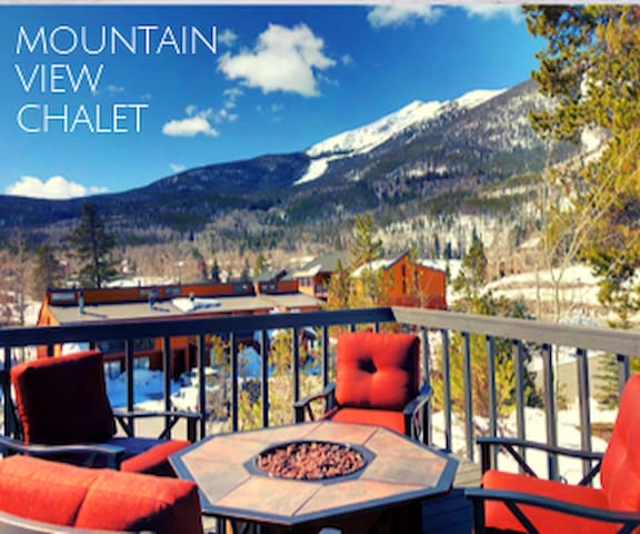 ⛷️Modern Chalet☀️Sunny Deck⛰️No Booking Fees!