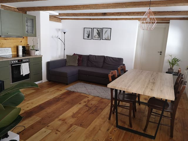Zentral gelegene Wohnung im Herzen von Kempten