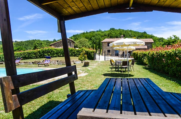 Villa Favola, detached house with private pool - Perugia - Haus