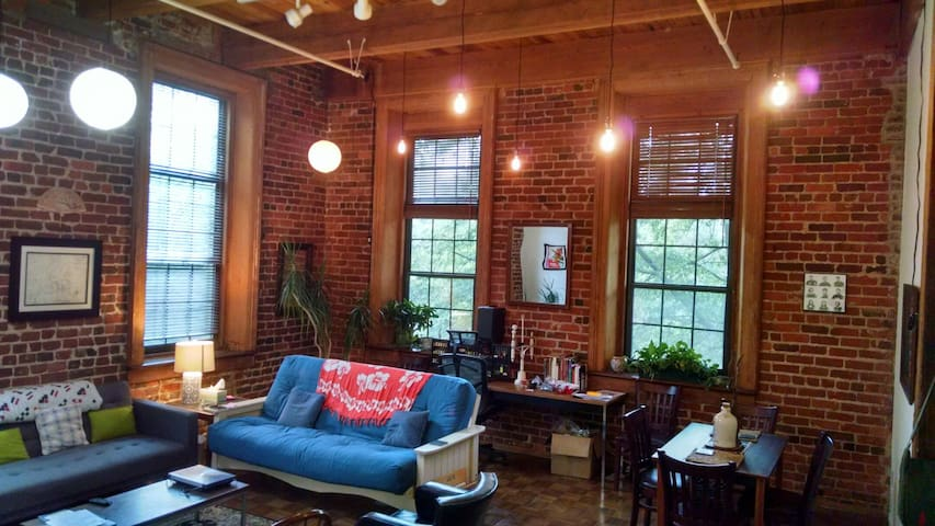 Beautiful Historic Apt. in the Heart of Downtown! - Richmond - Apartamento