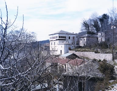 19th Century Mansion Vizitsa Pelion - Milies