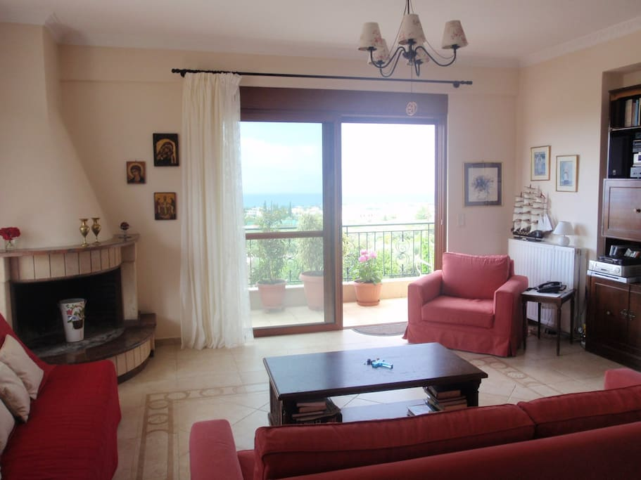 Aspect of the living room