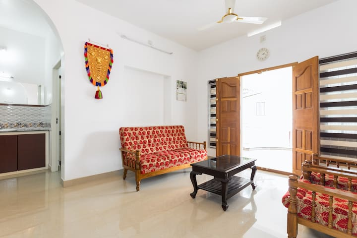 One Bedroom near natural retreat of Athirapilly - Kerala - Hus