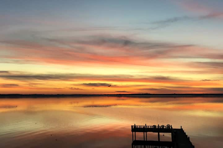 Cozy Fishing Cabin W/ Sunset Views On Toledo Bend