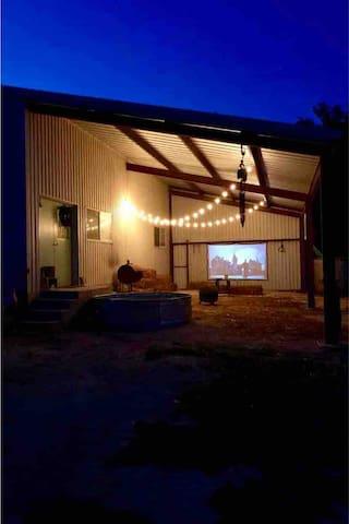 Ranch Glamping Barn Fredericksburg/Luckenbach