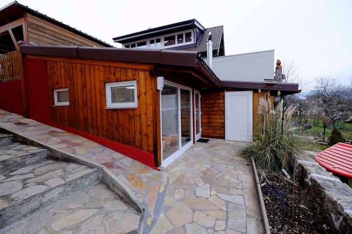 Jolie studio chalet indépendant, avec jardin. - Cernier - Chalet