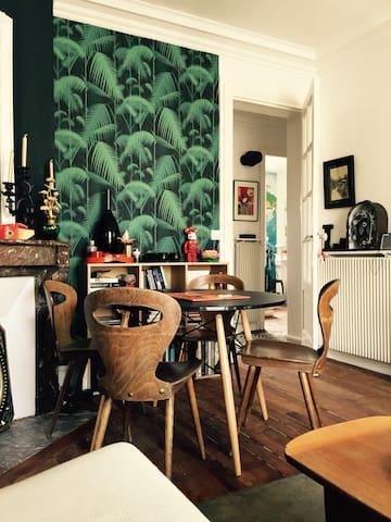 Charmant 2 pièces avec balcon - Paris - Flat