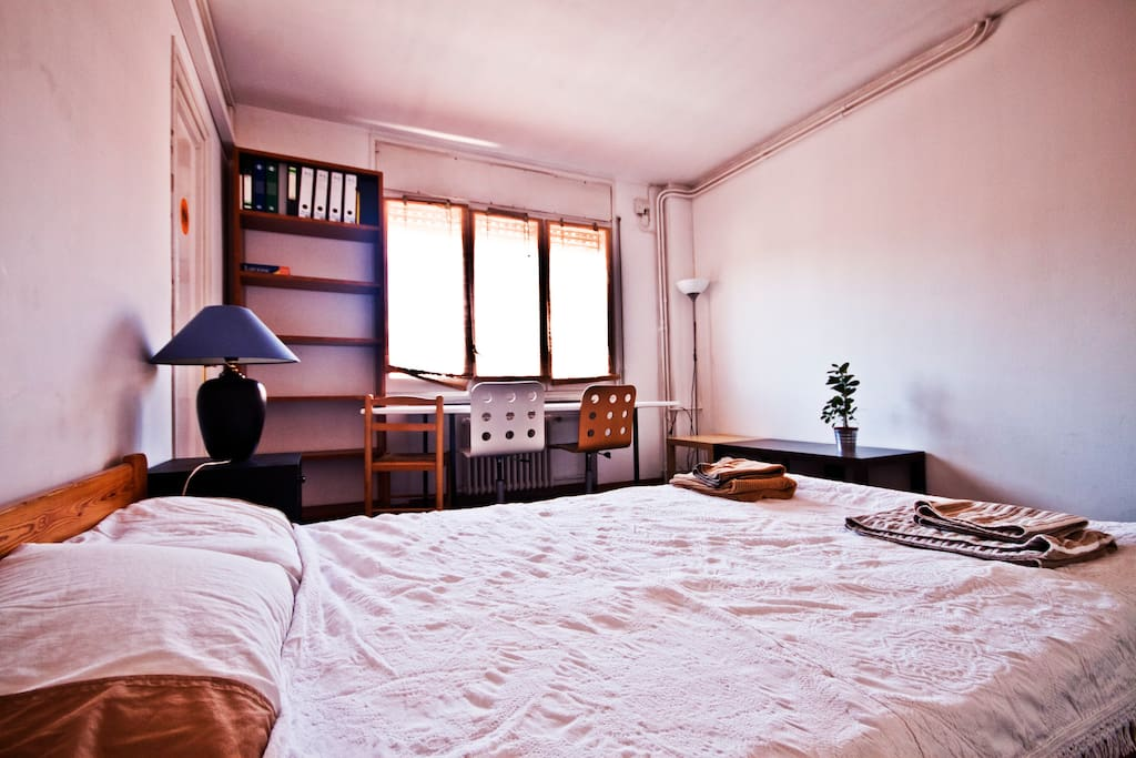 You get fresh linen and towels upon arrival - If you need an extra bed, a baby crib or anything else just let us know.