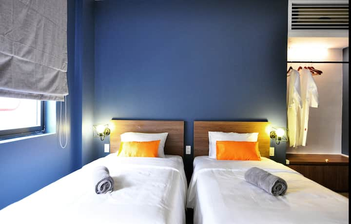 The Junction @ Hai Ba Trung - Deluxe Twin Room