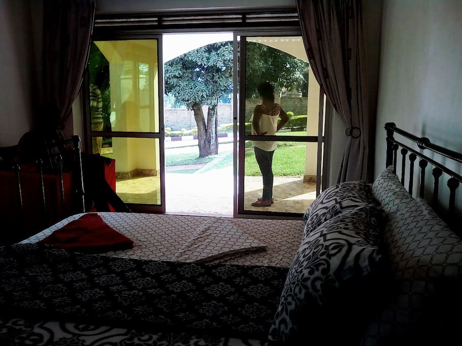 Room with a veranda view