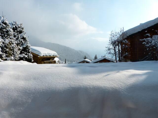 Modern Apart, Fantastic Views-next to ski lift! - Bagnes - Chatka w górach
