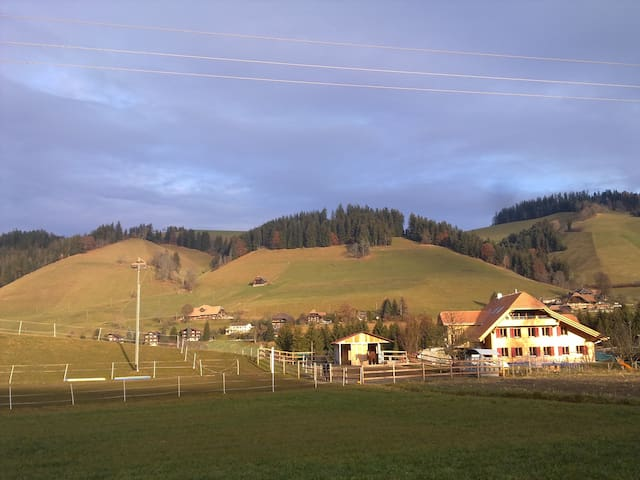 Linden, enjoy the swiss countryside - Linden - Szoba reggelivel