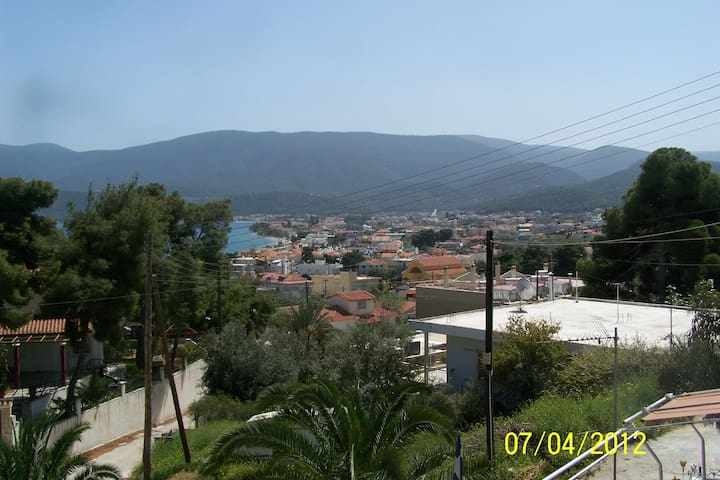 Traditional vacation in Greece - Loutra Oreas Elenis - Casa