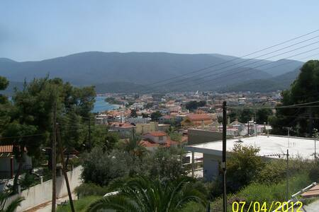 Traditional vacation in Greece - Loutra Oreas Elenis - Hus