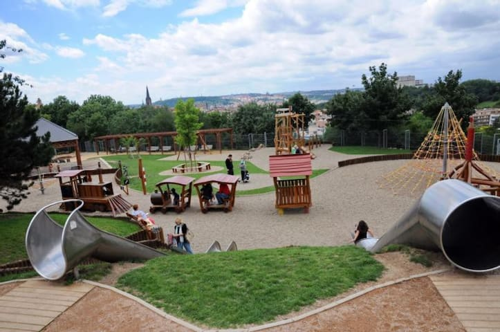 New playground for your kids in beautiful park just 10 minutes walking
